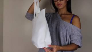 Faux Leather Tote Bag DIY: SEW WITH ME