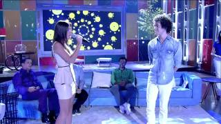 Sam Alves e Marcela Bueno no Encontro -  A Thousand Years (HD)