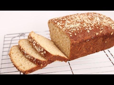 Honey Oat Bread Recipe – Laura Vitale – Laura in the Kitchen Episode 724