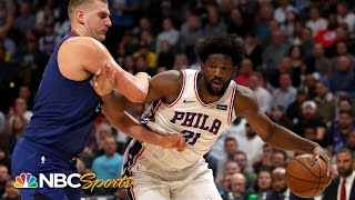 Is 76ers' Joel Embiid the best big man in the NBA? | PBT Extra | NBC Sports