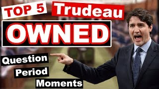 TOP 5 OWNED Trudeau Question Period Moments