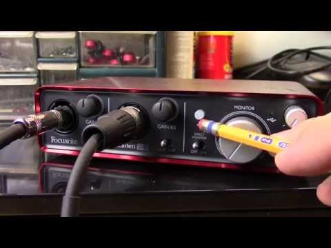 Setting up a PC as an amp simulator (updated)