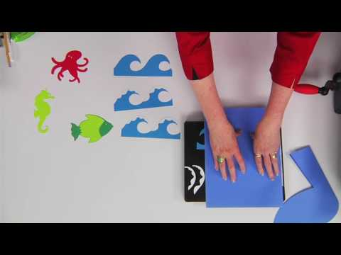 Ellison Education Video Series: Making a Whale-Tail Welcome Board with Sandi Genovese