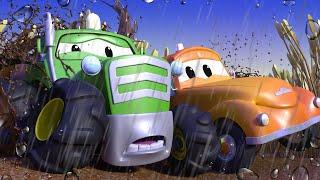 Odtahové auto pro děti - Traktor Ben má poškozený motor