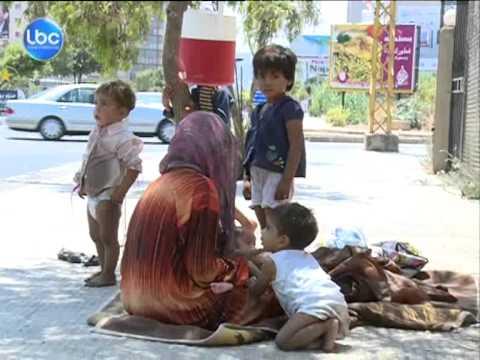 اخبار لبنان | ارصفة طرابلس تتحول الى مأوى للنازحين السوريين
