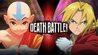 Aang VS Edward Elric (Avatar VS Fullmetal Alchemist) | DEATH BATTLE!