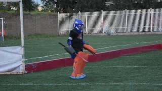 Hockey Goalkeeper Kid DANCE - COPA INDIOS 2017