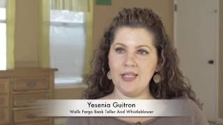 Wells Fargo Teller Whistleblower Guitron On Criminal Fraud, Bullying, Racism  & OSHA Cover Up