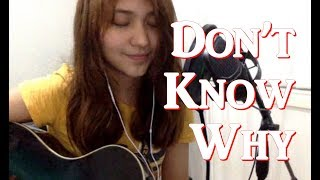 Don't Know Why - Norah Jones (Cover) - Rie Aliasas