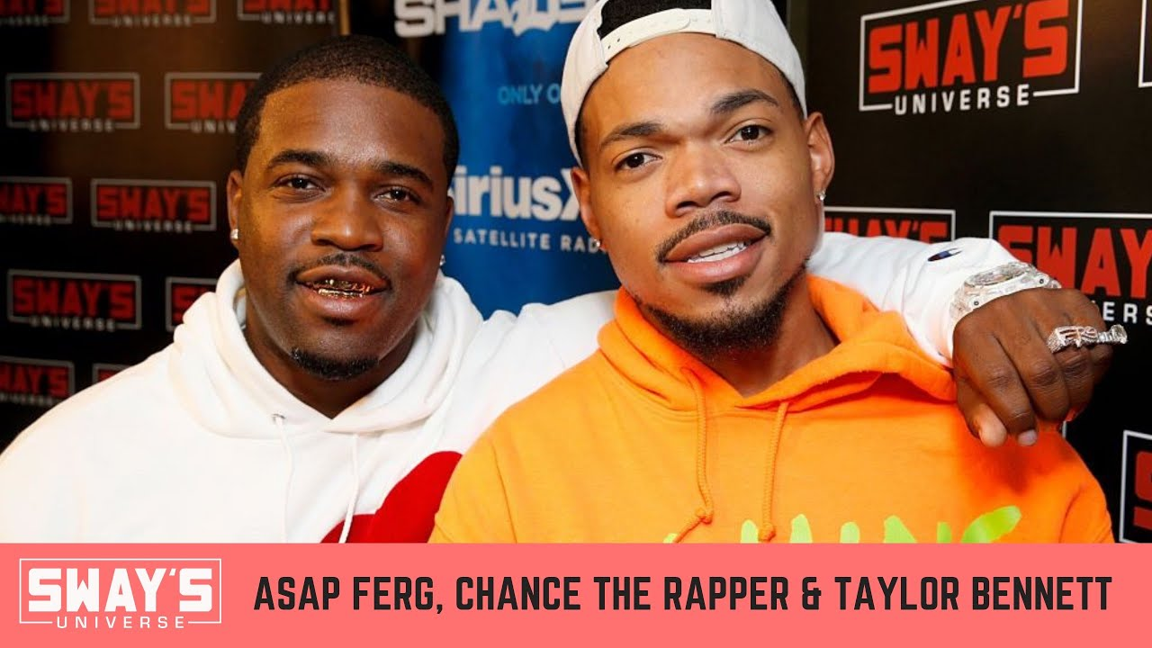 A$AP Ferg & Chance the Rapper Freestyle Back and Forth on SWAY's UNIVERSE