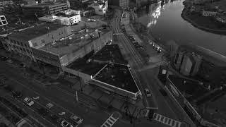 Drone footage, music video, original music, black and white, DJI Phantom 3 Professional, Aerial