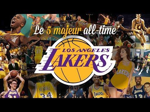 Lakers : le 5 majeur all-time de Los Angeles