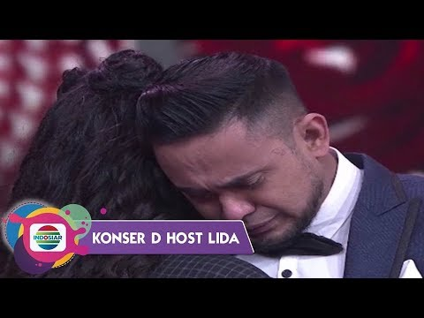 Aduuh..So Sweet Ungkapan Cinta Avi & Asila Bikin Ramzi Menitikkan Air Mata - D'HOST LIDA 2019