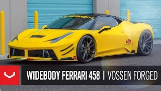 "Ferrari 458 Italia Widebody | ""Night Light"" 