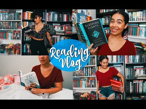 SCI-FI & NEW RELEASES  || Reading Vlog