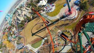 DJI FPV: Drone Flying at Canada's Wonderland: Amusement Park 4K