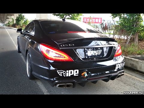 Mercedes CLS63 AMG V8 Bi-Turbo with iPE Innotech Exhaust Sound