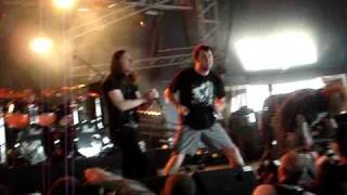 Napalm Death & Dorrian@ Hellfest 2009