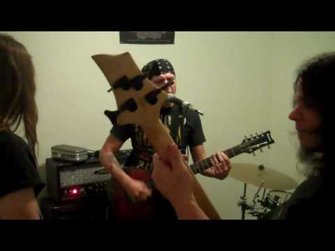 FOR DISASTER Practice Video, New  untitled song, May 20th 2010