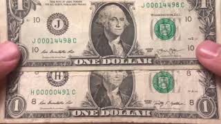 Low Serial Number Dollar Bills That Are Actually Worth Money   Searching Paper Money
