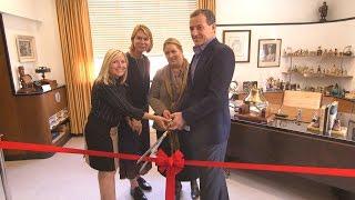 Walt Disney's restored office suite dedication ceremony with Bob Iger