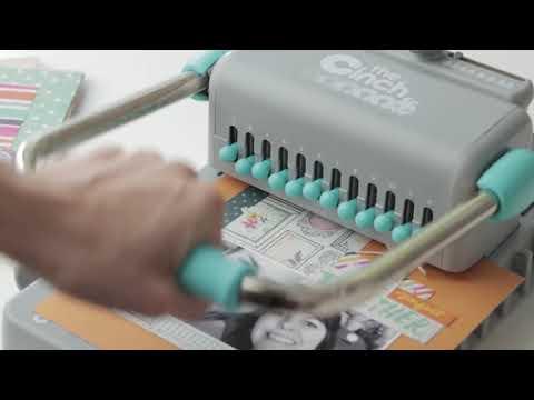 Máquina perforadora y encuadernadora THE CINCH