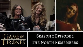 Game of Thrones S2E1 The North Remembers REACTION