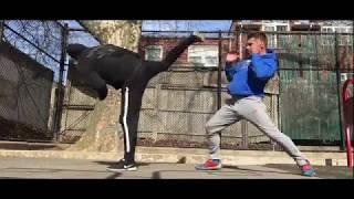 Alex Lee - Kicks -Training