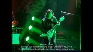 """Demon Head"" (Europe) live @ Gothenburg (SE) - December 15, 2012"