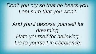 Evergrey - Obedience Lyrics