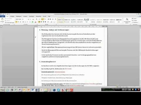 Fordert die ISO 9001 2015 ein QM Handbuch?