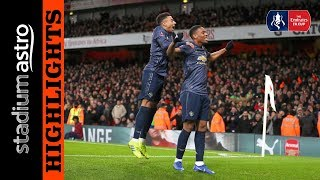 Arsenal 1 - 3 Manchester United | FA Cup | Astro Supersport