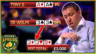 When you flop QUADS - and GET ACTION!
