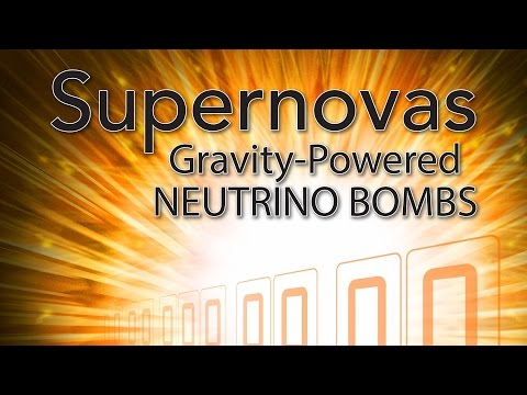 Supernovas: Gravity-powered Neutrino Bombs