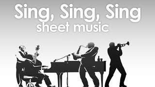 sing sing sing marching band pdf - TH-Clip