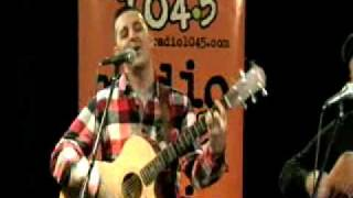 "Bayside live in the studio playing ''Mona Lisa"" acoustic"