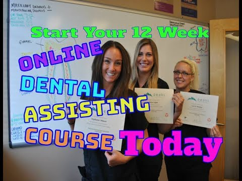 12 Week Online Dental Assistant Course | Peaks Online Dental ...