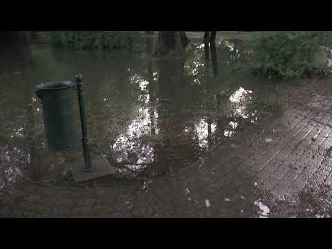 Víz alatt Nagyatád: Széchenyi park
