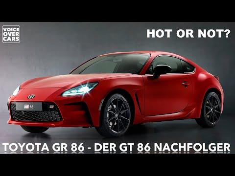 10 Fakten zum neuen 2021 TOYOTA GR 86 | DER GT 86 Nachfolger | Abmessungen | Leistung | Innenraum