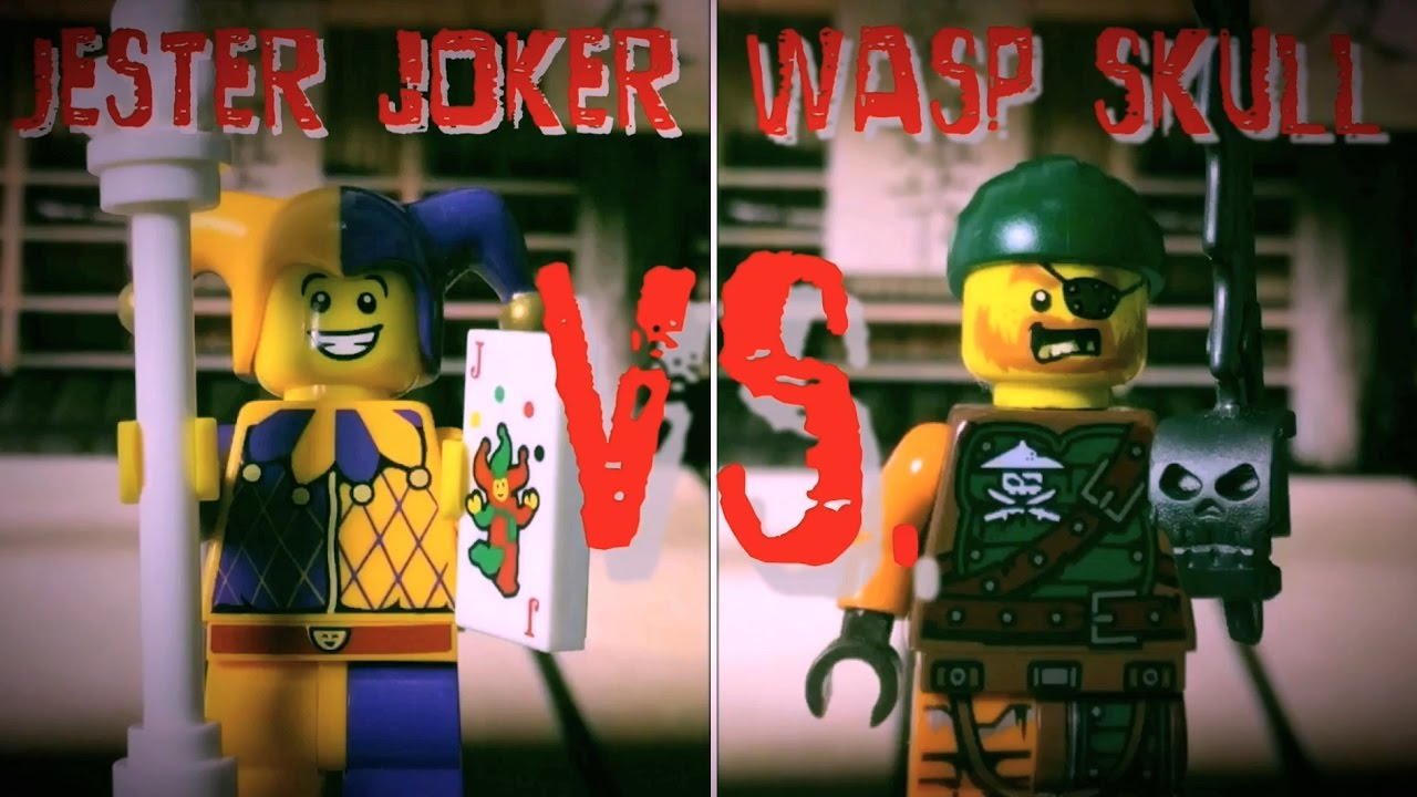 BUFÓN VERSUS PIRATA - Lego Fight Club - Club de lucha Lego - stopmotion Lego -
