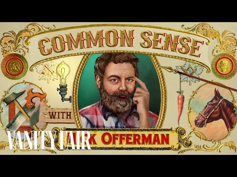 Nick Offerman's Common Sense #1: How to Unite Our Divided Country | Vanity Fair