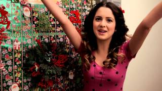Disney Channel Stars Show Holiday Dressing Room Doors - Debby Ryan, Bella Thorne, Laura Marano