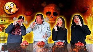 Last To Stop Eating WORLDS HOTTEST WINGS Wins $10,000 - Eating Challenge