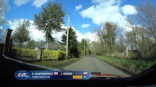 Rally - ERC Ireland2016 Kajetanowicz SS14 onboard