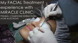 Facial Treatment with Miracle Clinic | Peeling, Acne Extraction & Injection | Nadya Aqilla