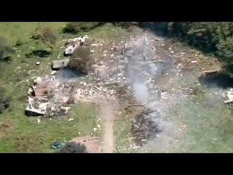 Έκρηξη πυρομαχικών στην Κολομβία