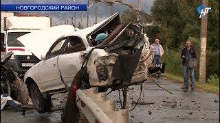 На дороге «Красные Станки – Великий Новгород» произошло серьезное ДТП, погиб один водитель