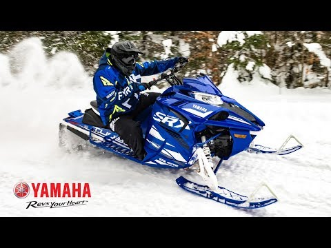 2019 Yamaha Sidewinder SRX LE in Northampton, Massachusetts - Video 1