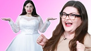 I Tried Under-$100 Wedding Dresses From Amazon - Video Youtube