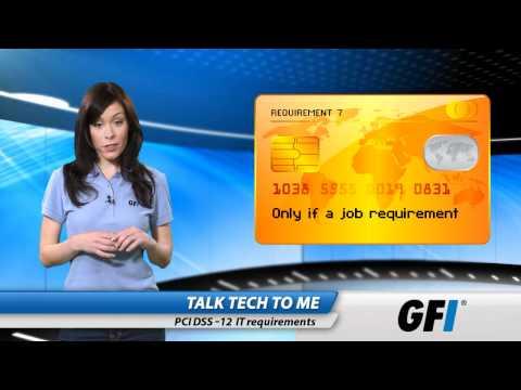 PCI DSS: Twelve IT requirements - YouTube